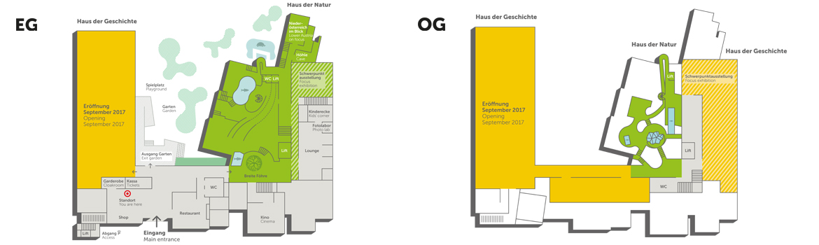 Übersichtsplan U2014 Museum Niederösterreich