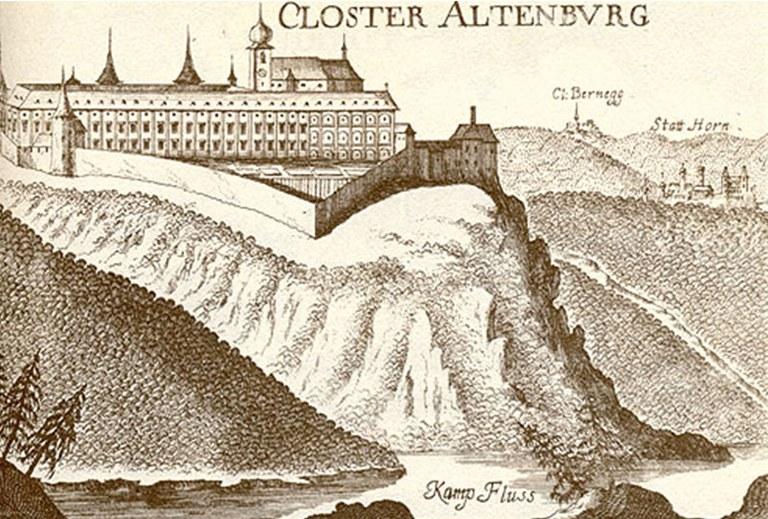 © Titelbild: Stift Altenburg, Kupferstich aus: Georg Matthäus Vischer, Topographia archiducatus Austriae inferioris modernae, 1672 © IMAREAL