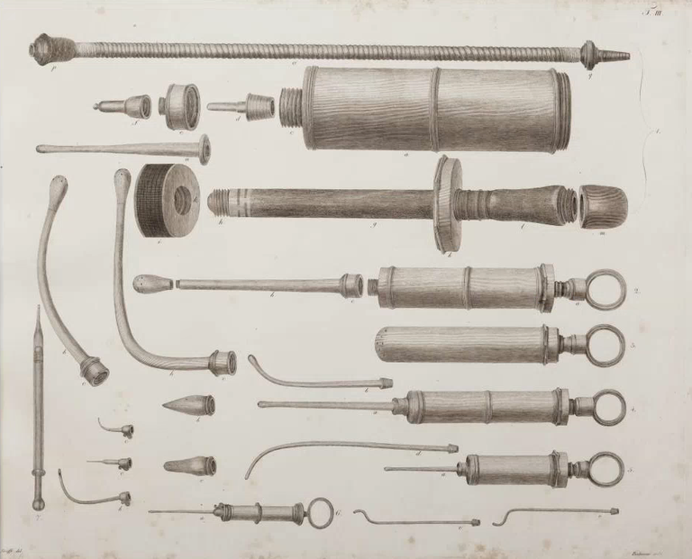 © Mistelbach-Rudtorffer-Tabulae Armamentarii Chirurgici Selecti Tafel