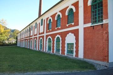 Nördliche Fabrikshalle der Papierfabrik Eduard Musils von Mollenbruck, 1882–1892 (© Elisabeth Vavra)