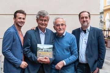 Autoren (v.l.n.r.) Mayer, Winkler-Hermaden, Kalmár, Linke