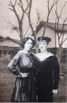 Anna Dücke und Karl Razenberger