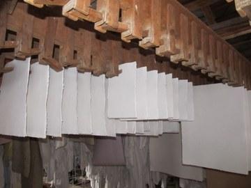 Trocknen des Papierbogens