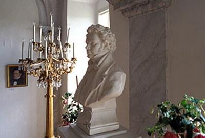 An diesem Tag verstarb der Liederfürst Franz Schubert.  © Schubert Franz, Büste Atzenbrugg NÖ Werbung, Foto: Westermann