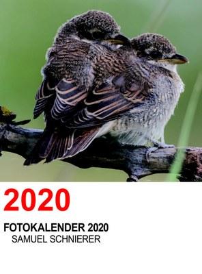 Tierfoto-Wandkalender, Spiralgebunden, Format A3