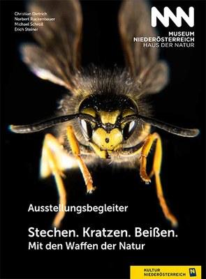"""Ausstellungsbegleiter zur Sonderausstellung """"Stechen. Kratzen. Beißen. Mit den Waffen der Natur""""  (22. 03. 2019 – 16. 02. 2020)"""